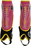Kookaburra Energy Hockey Shin Guards - Pink/Yellow, X-Small
