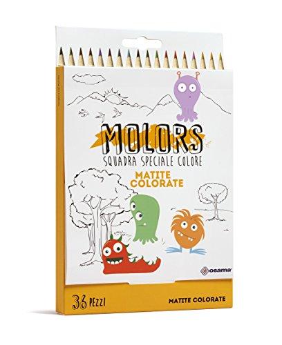 Osama Estuche 36 lápices de Colores OW 12028