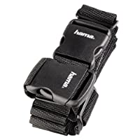 Hama 2 Way Luggage Strap - 5 x 200 cm/5 x 230 cm, Black