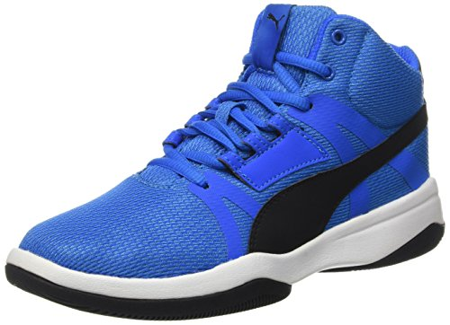puma-boys-rebnd-street-evo-low-top-sneakers-blue-size-6-uk