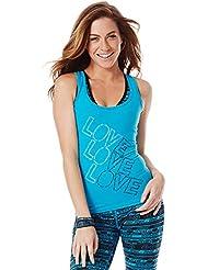 Zumba Fitness Love X3 Racerback T-Shirt Femme
