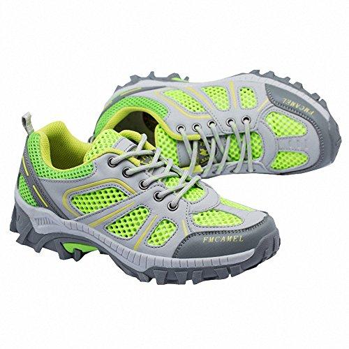 Ben Sports Scarpe sportive Scarpe da escursionismo da donna Uomo verde