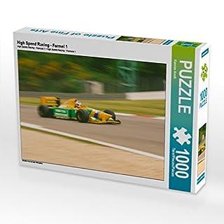 CALVENDO Puzzle High Speed Racing - Formel 1 1000 Teile Lege-Größe 64 x 48 cm Foto-Puzzle Bild von Karsten Arndt