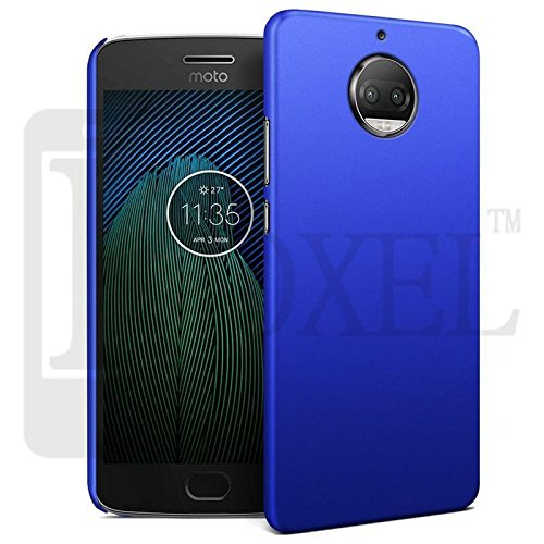 Roxel Back Cover Case,Original 3D Rubberised Matte Hard Case Back Cover with Orginal Colour & Finishing for Moto G5s Premium Quality-Blue