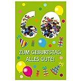 Susy Card 40010274 Geburtstagskarte, 60. Geburtstag