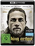 King Arthur: Legend of the Sword (4K Ultra HD + 2D-Blu-ray) (2-Disc Version)  [Blu-ray] -