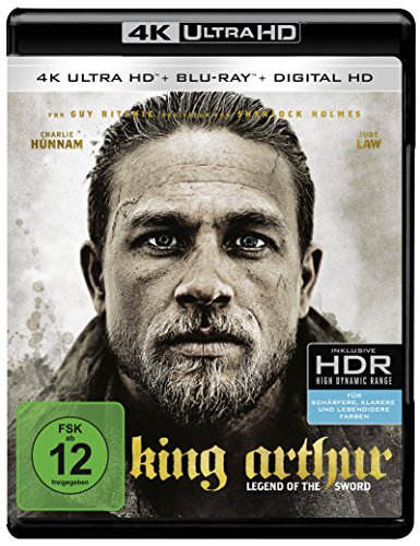Bild von King Arthur: Legend of the Sword (4K Ultra HD + 2D-Blu-ray) (2-Disc Version)  [Blu-ray]
