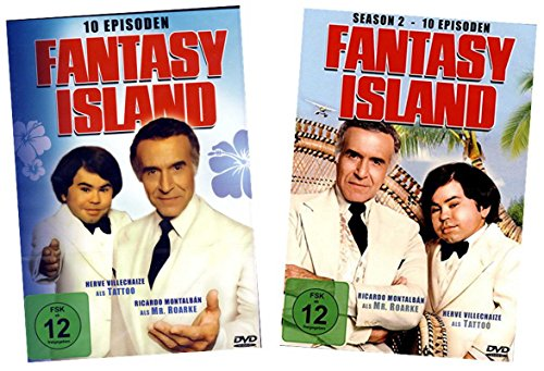 Fantasy Island - Season 1+2 - 20 Episoden [4 DVDs]