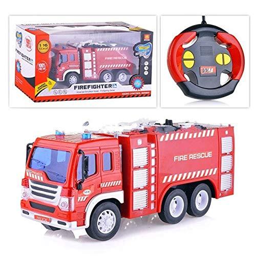 Spiel AG Feuerwehrauto R/C ferngesteuert Fire Truck 1:16 mit Licht*