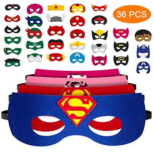 Pitaya Máscaras de Superhéroe