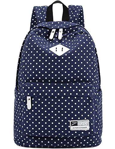 canvas-backpack-travel-school-shoulder-bag-dot-printing-teenage-girls-bags-for-14-15-laptop-pc-a4-ma