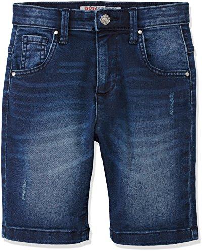 RED WAGON Jungen Denim Short, Blau (Blue), 110 (Herstellergröße: 5 Jahre)