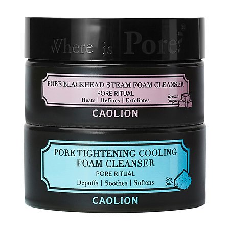 Caolion Hot & Cool Pore Foam Cleansing Duo by Caolion (Zucker Spa Brauner)
