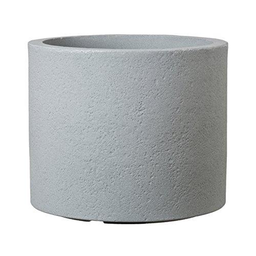 PP-PLASTIC Pflanztopf Rondo Ø39xH33 cm Pot à Plantes Stony Grey, 40 cm