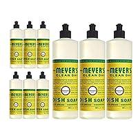 Mrs. Meyers 9 Pack Mrs Meyers Liquid Dish Soap Honeysuckle 16 Fluid Ounce 9 Pack