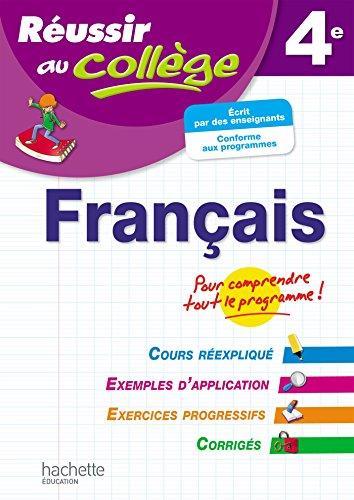 Réussir Au Collège Français 4ème