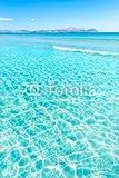 Alu-Dibond-Bild 60 x 90 cm: 'Mallorca Can Picafort beach in alcudia bay Majorca', Bild auf Alu-Dibond
