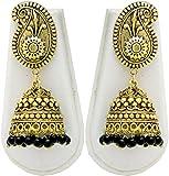Shubh Gems Oxidised German Silver Earrin...