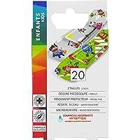 Eurosirel–Pflaster dekoriert für Kinder, nassfest, 20Pflaster, 2Größen preisvergleich bei billige-tabletten.eu