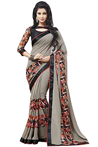 Nirjas Designer Women's Clothing Kanjivaram Saree Latest Party Wear Design Free Size...