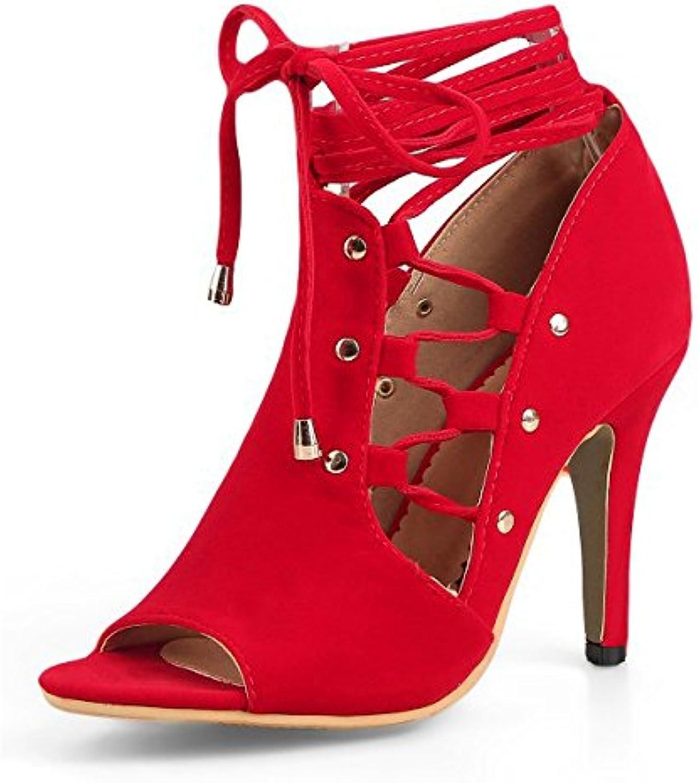 Mode Nouvelle Femmes RoFemme Chaussures Chaussures Chaussures Dames À Talons Hauts Floral Sarappy Pompes Peep Toe Ankle Strap Chaussures...B07D22BSVDParent dca303