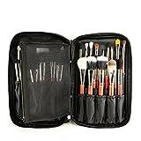 makeup Brush organizer, Lommer 10.63x 6.69x 1.57-in Oxford Cloth make-up Brush Storage Bags organizer per trucchi utensili