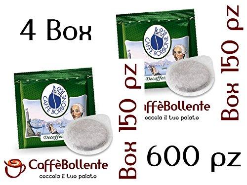 Caffè Borbone - Miscela Verde / Dek - Cialde ESE - 600 pz (4x150 pz)