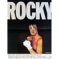 Rocky French Movie poster 15x 21–Tappetino FR