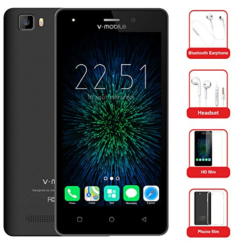 Moviles Baratos 10Pcs v·mobile A10 Telefonos Dual SIM 4G 5.0' Android 7.0 Batería 2800mAh 8GB ROM Cámara 5MP...
