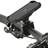 QuickMOUNT Fahrradhalterung für iPhone XS / X Fahrrad Handyhalterung mit Kugelgelenk, iPhone X Schutzhülle Case Halter (iPhone X / XS Handyhülle + Bike Mount), iPhone XS / X Case + Fahrradhalterung