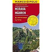 MARCO POLO Karten 1:200.000: MARCO POLO Karte Tschechien Blatt 2 Mähren 1:200 000