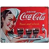 Nostalgic-Art 23192 Coca-Cola, Waitress, Blechschild, 30 x 40 cm