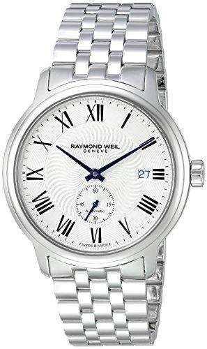 raymond-weil-homme-40mm-bracelet-boitier-acier-inoxydable-automatique-cadran-argent-montre-2238-st-0