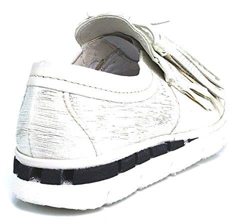 A.S. 98Airstep Chaussons blanc Bianco avoine languette Blanc - Blanc