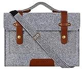 MOSISO Filz Sleeve Hülle für 13-13,3 Zoll MacBook Pro, MacBook Air, Notebook...