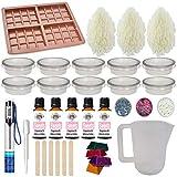 Wax Melt kit - Huge Learner Fragrance Oil Tarts Moulds Glitter Colour Candle