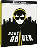 Baby Driver (4K UHD + BD) (Edición Especial Metal) - Exclusiva Amazon [Blu-ray]