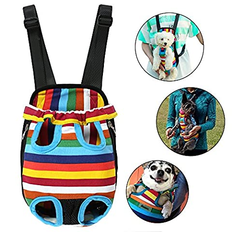 Dog Carriers Portable Convenient Lightweight Outdoor Travel Pet Carrier Free Your Hands Safe to Carry Your Pet M