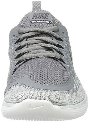 Nike Damen Free Run Distance 2 Laufschuhe Grau (cool Grigio / Nero / Grigio Lupo / Invisibile / Bianco)