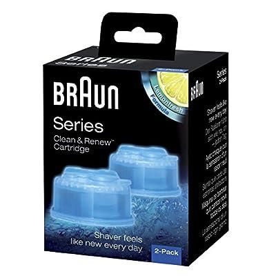 Braun Clean & Renew Cartucce di Ricarica CCR, Confezione da 2 by Braun