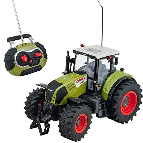 Preisvergleich Produktbild Ferngesteuerter Traktor,  Claas Axion 850,  Licht,  Maßstab 1:16,  43c / RC Ferngesteuert Fahrzeug Spieltrecker Trecker Schlepper