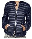Herrlicher Damen Marken-Leichtdaunen-Jacke, dunkelblau, Größe:XL