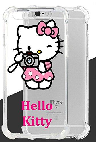 Hello Kitty ultraklar Fall Lassen und stoßfest für Apple iPhone 6Plus & iPhone 6S Plus-Retail Verpackung, TPUZKT3 (Iphone Hello Plus Fall Kitty 6)