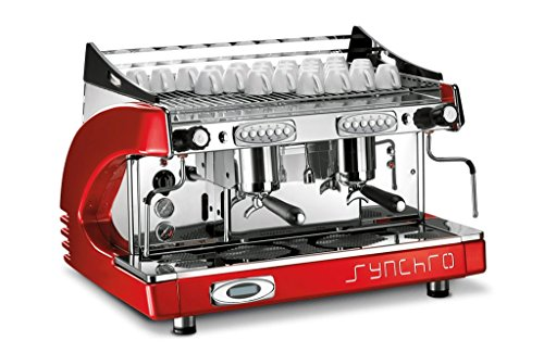 Siebträger – Espressomaschine CBC ROYAL Synchro 2-Gr mit 8 Ltr. Kessel
