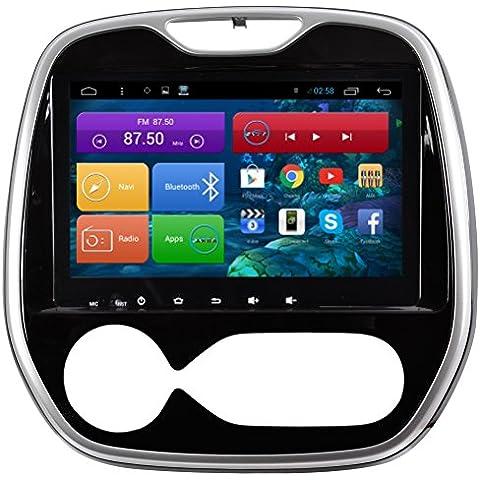 Top Navi 9inch 1024* 600Android 4.4lettore PC Auto per Renault Duster auto di navigazione GPS WIFI Bluetooth Radio 1,2GB CPU DDR3Capacitivo Touch Screen 3G car stereo audio rubrica RDS AUX Specchio link 16GB Quad Core
