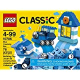 LEGO Classic Blue Creativity Building Blocks for Kids (78 pcs) 10706