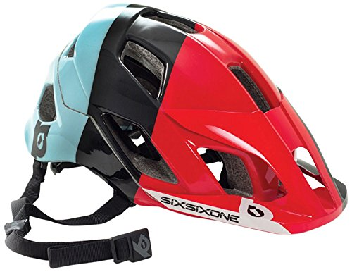 Preisvergleich Produktbild SixSixOne Evo AM Helmet lemans Kopfumfang 60-62 cm 2016 mountainbike helm downhill