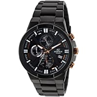 Casio Edifice Chronograph Black Dial Men's Watch - EFR-544BK-1A9VUDF(EX230)