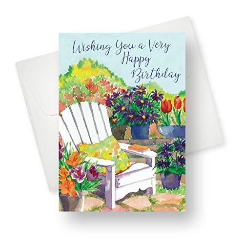 Grußkarte mit einzigartigem Garten-Design, 14 x 19,1 cm, 175 Stück (Halloween Verse Für Karten)