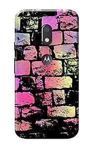 Moto G4 Play Back Case Designer KanvasCases Premium 3D Printed Lightweight Hard Cover